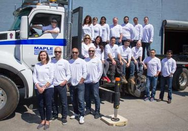 Maple Roofing team